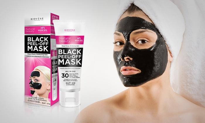 biov ne black peel off mask groupon. Black Bedroom Furniture Sets. Home Design Ideas