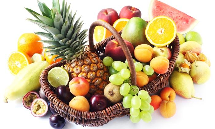 EDEKA Böcker - Hamburg: Obstkorb mit einer Auswahl an frischem Obst im Wert von 10 oder 20 € inklusive Lieferung von EDEKA Böcker ab 5 €