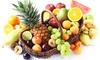 EDEKA Böcker: Obstkorb mit einer Auswahl an frischem Obst im Wert von 10 oder 20 € inklusive Lieferung von EDEKA Böcker ab 5 €