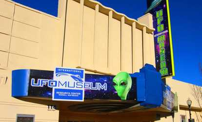 image placeholder image for Admission for 2 or 4 or Annual Membership for 2  at International UFO Museum