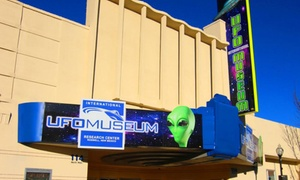 Up to 53% Off at International UFO Museum and Research Center at International UFO Museum and Research Center, plus 6.0% Cash Back from Ebates.