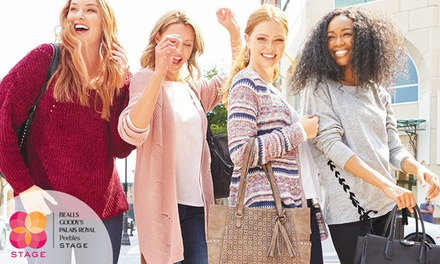 $50 eGift Card to Bealls, Goody's, Palais Royal, Peebles & Stage Stores