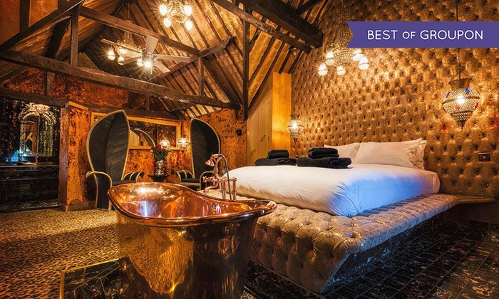 The Crazy Bear Group - Multiple Locations: Crazy Bear Hotel Break for Two with Champagne, Three Course Dinner and Breakfast (64% off)