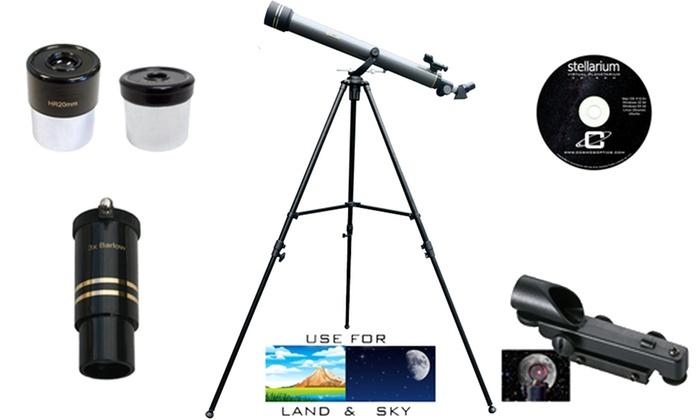galileos refracting telescope