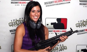 The Vegas Machine Gun Experience: All-Inclusive Shooting Experience at The Vegas Machine Gun Experience (Up to 46% Off). Three Options Available.