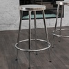 Beverly Chrome Bar Stools (Set of 2)