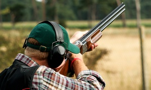 Hawley Clay Shooting Ground: Clay Pigeon Shooting Experience with 25 Clays for One at Hawley Clay Shooting Ground