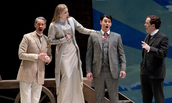 """Elmer Gantry - Vogel Hall Marcus Center: Florentine Opera Company's """"Elmer Gantry"""" at Uihlein Hall at the Marcus Center on March 13 or 15 (Up to 38% Off)"""