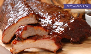 44% Off Barbecue at Claxon's Smokehouse and Grill at Claxon's Smokehouse and Grill, plus 6.0% Cash Back from Ebates.