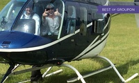 Scenic Helicopter Flight For One or Two with Central Helicopters