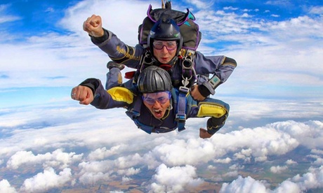 Experience: Tandem Skydiving Experience For just: £185.0