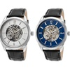 Lucien Piccard Men's Automatic Skeleton Watches
