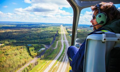 Seven-Mile Helicopter Flight for One or Two with Whizzard Helicopters, Four Locations
