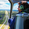 Seven-Mile Helicopter Flight