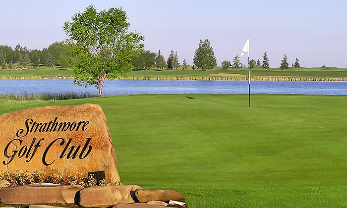 Strathmore Golf Club - Strathmore Golf Club: 18 Holes of Golf with Cart Rental and Range Balls for Two or Four at Strathmore Golf Club (Up to 49% Off)