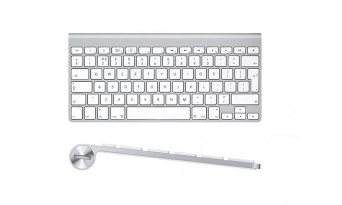 7a5f489a175 Apple MC184LL/A Bluetooth Wireless Keyboard (Refurbished) | Groupon
