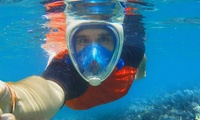 GoPro Compatible FreeBreather Full-Face Snorkel Mask