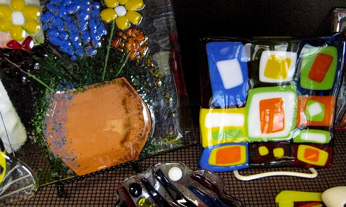 Firehouse Pottery & Arts - Mount Airy: Glass-Fusion Class for One or Two at Firehouse Pottery & Arts (Up to 40% Off)