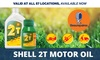200ml of Shell 2T Two-Stroke Oil
