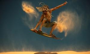 Adventure Sports & Tours 4U: Sandboarding Experience from R299 for Two at Adventure Sports & Tours 4U (Up to 68% Off)