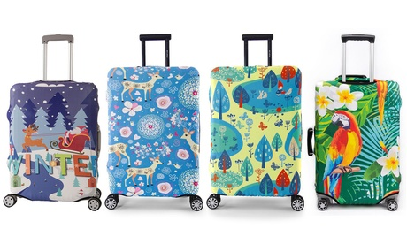 Custodia protettiva per valigie, disponibile in 3 dimensioni e varie fantasie