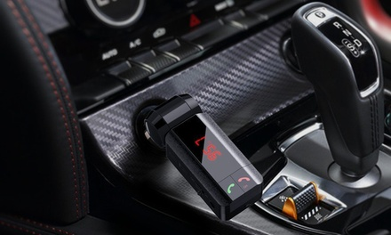 One or Two Bluetooth FM Car Transmitters