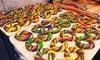 Fresh Delivered Tie-Dye Bagels (6-Count): Fresh Delivered Hand-Rolled Tie-Dye Bagels (6-Count)
