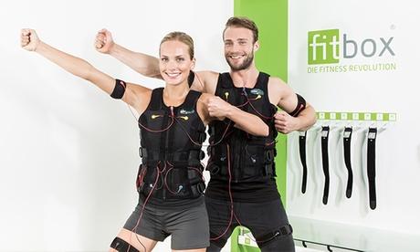 20 Min. EMS-Training mit Personal Trainer, Komfort-Service und Beratung bei fitbox Berlin