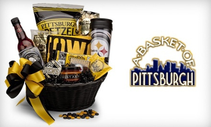 Customer Reviews & Pittsburgh-Themed Gift Baskets - Basket of Pittsburgh | Groupon