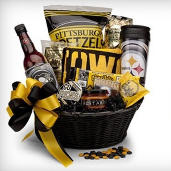 Pittsburgh-Themed Gift Baskets - Basket
