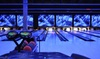 Strikes Unlimited - Sunset West: $45 for Bowling for Up to Six People with a $5 Game Card and Pizza at Strikes Unlimited ($109 Value)
