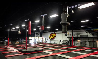 image for Two, Four, or Six 60-Minute Jump Passes or a Party for Up to 10 People at Shakalaka (Up to 51% Off)