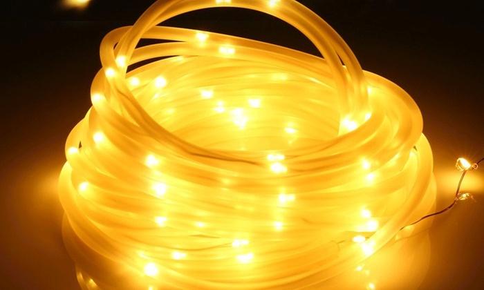 7m solar led rope lights groupon 7m solar led rope lights aloadofball Images