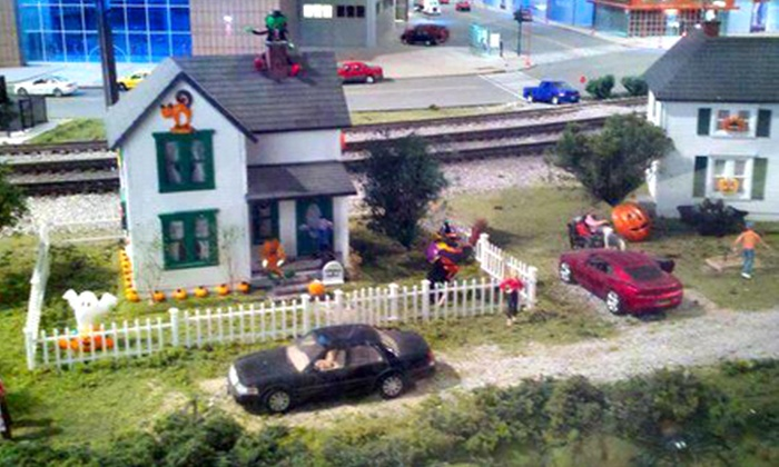 EnterTRAINment Junction - Wetherington: Halloween-Themed Model-Train Event for Two or Four at EnterTrainment Junction (Up to 53% Off)