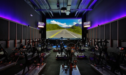 One Cycling Class at VirtuRide (Up to 37% Off)