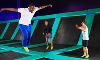2-Hr Weekday Jumping Session + Grip Socks: 1 ($15), 2 ($29) or 4 People ($49) at Flip Out Derrimut (Up to $107.50 Value)