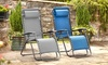 Padded Reclining Outdoor Chair