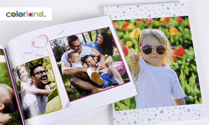 Up to Three Personalised Hardcover A4 Photobooks with 100 or 140 Pages from Colorland