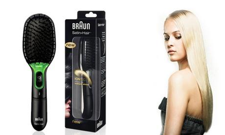 Cepillo iónico alisador Braun Satin Hair