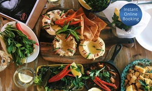 Teta's Authentic Lebanese: Lebanese Banquet with Tea or Coffee for Two ($48) or Four People ($96) at Teta's Authentic Lebanese (Up to $192 Value)