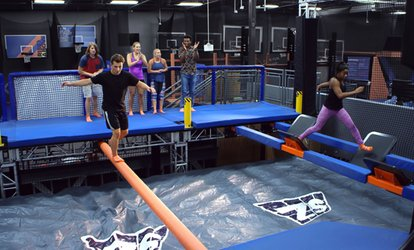 image for Two 90- or 120-Minute Jump Passes at Sky Zone (Up to 50% Off)