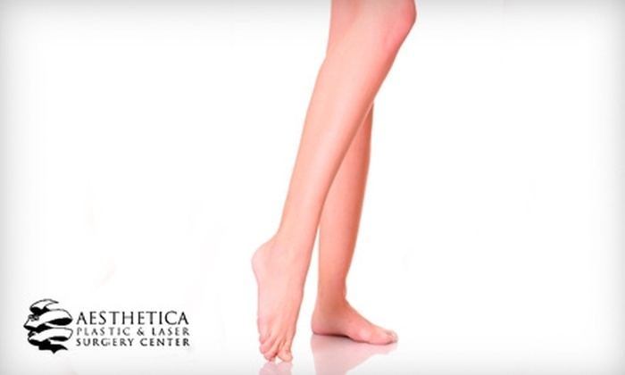 Aesthetica Plastic & Laser Surgery Center - Ala Moana - Kakaako: $79 for Three Laser Hair-Removal Treatments at Aesthetica Plastic & Laser Surgery Center (Up to $450 Value)