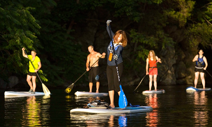 Active Nature - Multiple Locations: One or Two Paddleboarding or Whitewater Kayaking Lessons at Active Nature (Up to 46% Off)