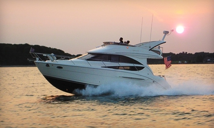 CharterMySeaRay Boat Charters - Norwalk: $216 for a One-Hour Yacht Charter for up to Six People from CharterMySeaRay Boat Charters ($360 Value)