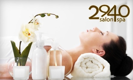 $90 Groupon for Services at 2940 Salon-Spa - 2940 Salon-Spa in Montgomery