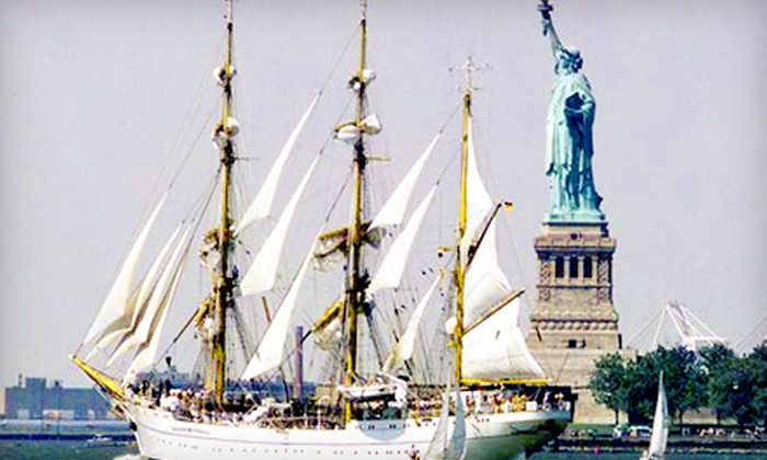 Seacoast Sailing - The Waterfront: NY Fleet Week Tall Ships BYOB Sailing Excursion for One or Two (Up to Half Off)