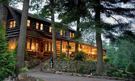 Lodge in Pennsylvania's Cook Forest