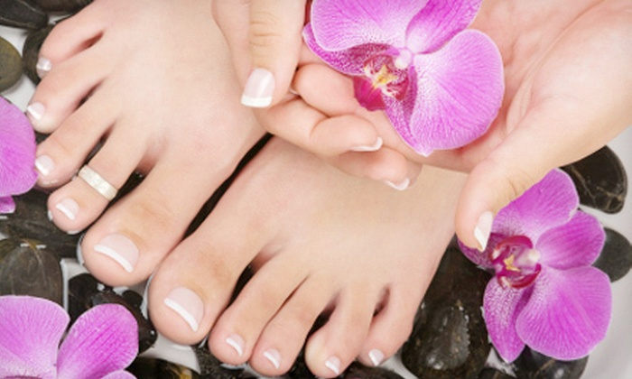 Academy of Nail Technology - Alhambra: One or Three Spa Mani-Pedis or Manicure and Spa Pedicure at Academy of Nail Technology (Up to 54% Off)