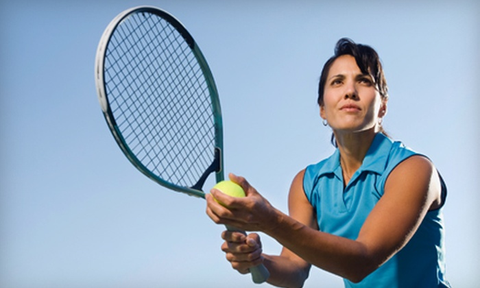 Elite Squad Tennis Club - Lionsgate Marketplace: Tennis-Lesson Package for Beginner or Intermediate Players at Elite Squad Tennis Club in Overland Park