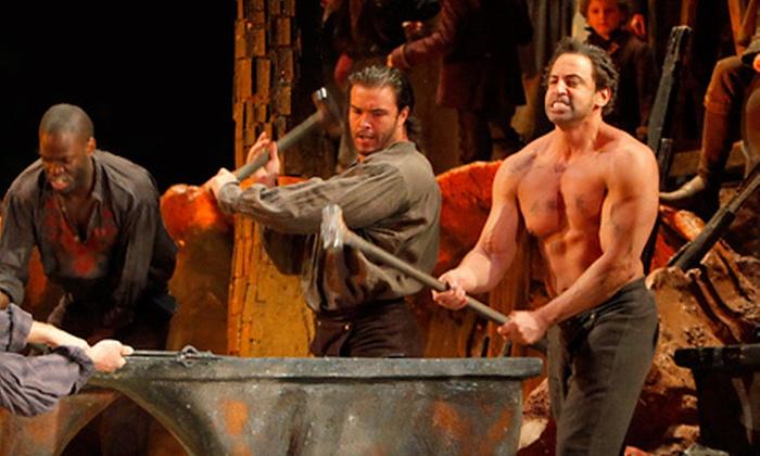 """""""Il Trovatore"""" - Downtown Wichita: """"Il Trovatore"""" Opera Performance at Wichita Grand Opera on February 4 at 7 p.m. (Up to 53% Off). Six Options Available."""